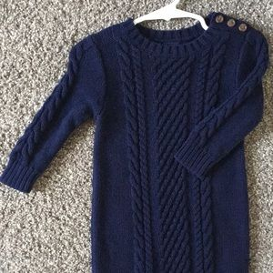 Baby Gap Cable Knit Bodysuit